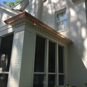 Copper Roof, Flashing & Gutters
